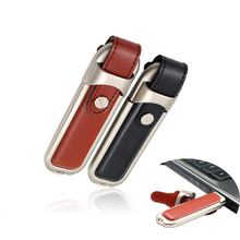 Fashion leather case usb flash drive 64GB pen drive 32GB pendrive real capacity memory stick disk 4GB 8GB 16GB storage device
