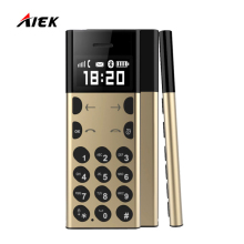 New Card Phone AEKU/AIEK A5 PK AIEK E1 AIK C6 M5 Metal Design For Children Old Man Low Radiation MP3 Player Bluetooth Dialer