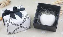 European Style Mini Heart Gift Box Soap Romantic Valentine's Day Gift Small Wedding Favours Gift 20pieces/lot(China)
