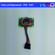 T5577 Encrypted Lock Pcb Electronic Hotellock Parts 25*59mm Standard Size Electric Circuit Board Card Hotel Access Control