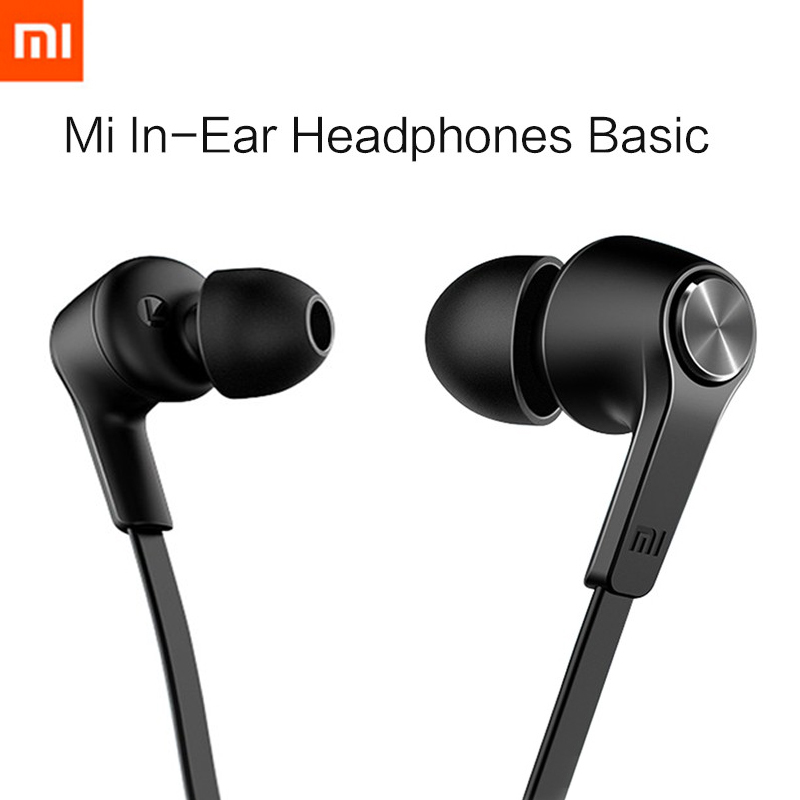 New Xiaomi Piston In-Ear Stereo Earphone+Mic Basic Models Metal Earbud Headset Earphones For Xiaomi Redmi 3 Note 2 3 Pro Mi4 Mi5<br><br>Aliexpress