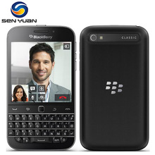 Original Unlocked BlackBerry Q20 Dual core 2GB RAM 16GB ROM 8MP Camera WIFI GPS BlackBerry  Classic Q20 cell phone