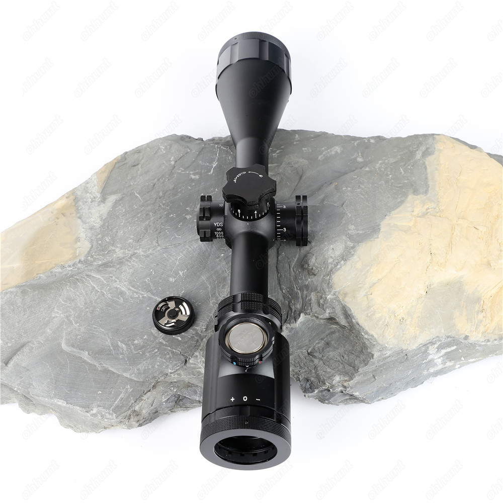 BSA Stealth Tactical STS 6-24X44 IR Hunting Optics Riflescopes Side Parallax Glass Etched Mil Dot Reticle Turrets Lock Scope (8)