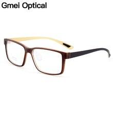 Gmei Óptico TR90 Urltra-Luz Da Moda Aro Completo Armações De Óculos Ópticos  Para Homens Mulheres Miopia Presbiopia Óculos Oculos. e3c5cc87ce