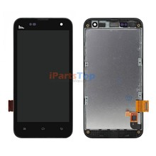 Original Genuine Display For Xiaomi Mi2 Mi 2 Black LCD Screen With Touch Digitizer And Front Frame Full Assembly Replacement