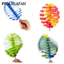 PIKAALAFAN New Revolving Lollipop Fisher Series Creative Decompression Art Lollipopter Helicone Tenterhooks Desktop Child'S Toys(China)