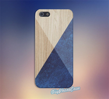Deep Blues Wood fashion cell phone case cover for Samsung Galaxy S3 S4 S5 s6 s6 edge s7 s7 edge note 3 note 4 note 5 #un172