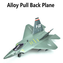 F22 plane, alloy Full back Airplane model Toy Vehicles , Diecasts Airplanes toys, free shipping