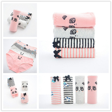 Buy SP&CITY Cute Panda Cotton Panties Sex Cartoon Girl Intimate Underwear Women Seamless Briefs Thong Fashion Soft Plus Size Panties