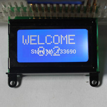 8x2 STN Blue White character 0802 lcd module HD44780 or SPLC780 Controller mini LCD 8*2 LCD display