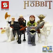SY Hobbits Lord Rings Knight Horse Room minifig Model Building Blocks Sets Kids Educational Toys Gift - STAR WARS MINIFIGURES store