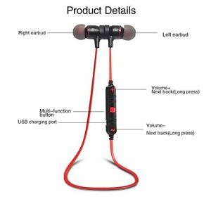 New Earbuds Wireless Bluetooth 4.0 earphones MIC Sport Bass earbuds Earphone<br>