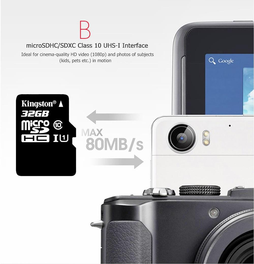 Kingston Class10 Micro Sd Card 16GB Memory Card Mini Sd Card16GB SDHC TF Card For Sony xperia z2 z3 z5 For HUAWEI p7 8 9mate9 (4)