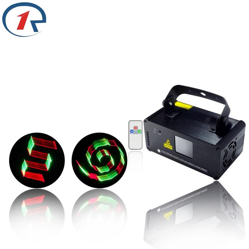 ZjRight IR Remote 3D Effect Red Green Mix Yellow Laser Light DMX Full Color Projection Stage Light dj light ktv bar Disco light<br><br>Aliexpress