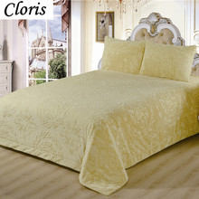 CLORIS Moscow Deliver Luxury Brand Plaid Blanket Quilt On The Bed Pillowcase Sofa Bed Bedspread Throw Super Soft Cover Bedding