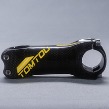 Buy TomTou Full Carbon Bike Stem 6/17 Degree Mountain Road Bicycle Parts Cycling MTB Handlebar Stem 31.8mm 3K Glossy Yellow T86T19 for $22.86 in AliExpress store