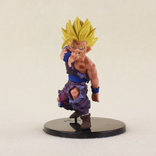 12cm Japanese anime figure Dragon ball Z Action Figures Budokai Son Goku Gohan Vegeta Dragonball Toy Japanese Anime Figure