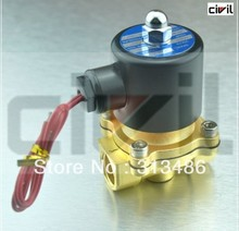 Brass Part Copper coil Electric Solenoid Valve N/C 1/2''(China)
