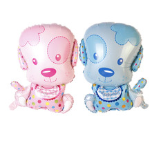 BINGTIAN foil balloon modeling cartoon puppy dog birthday party balloons wholesale