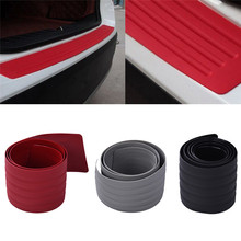 1PCS Car Styling Door Sill Guard Car SUV Body Rear Bumper Protector Trim Cover Protective Strip 90cm/104cm