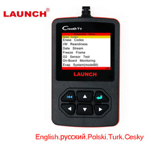 Launch Creader V Plus OBD2 Code Reader Scanner Support English/Russian/Polish/Turkish/Czech CReader V+ OBDII ODiagnostic Tool