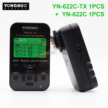 Buy Yongnuo YN-622C + YN-622C-TX KIT Wireless TTL HSS Flash Trigger Canon 1200D 1100D 1000D 800D 750D 650D 600D 550D 500D 5D II for $73.99 in AliExpress store