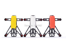 White / Red / Yellow Q100 100mm frame DIY Micro Mini FPV Brushed RC Quadcopter Frame Kit Support 8520 Coreless Motor
