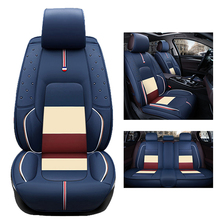 Special Leather car seat covers set For Benz A B C D E S series Vito Viano Sprinter Maybach CLA CLK auto accessories car-styling