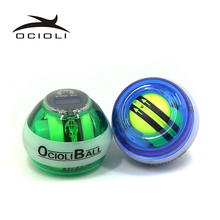 Fully Automatic Gyro PowerBall LED Flashing Power Ball Gyroscope Wrist Arm Exercise Simulator Strengthener Force Ball