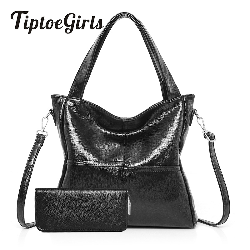 Winter New European and American Fashion Personality Two Sets of Wild Atmospheric Portable Shoulder Diagonal Handbags<br>