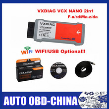 For Ford/Mazda VXDIAG VCX NANO 2 in 1 Same for VCM 2 VCM2 IDS V101 V104 Diagnostic Tool NANO Wifi/USB Better Than VCM II