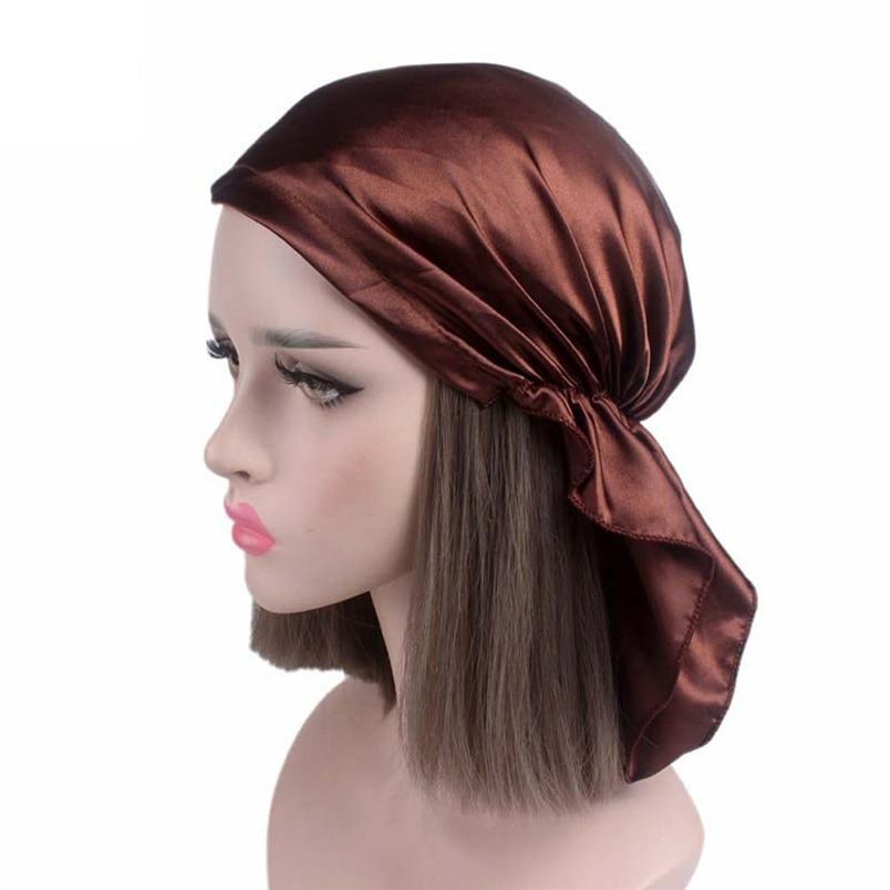 Women Summer Hats Fashion Casual New Arrivals Cancer Chemo Hat Beanie Scarf Turban Head Wrap Cap Hot Sale Hats #J19 (4)