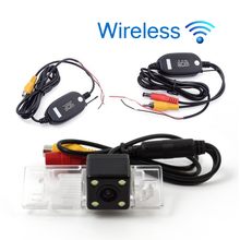 Wireless Car Rear Camera for Peugeot 408 10/11/12/13 Auto Backup Reverse Review Parking kit Night Vision Free Shipping KF-V1191(China)