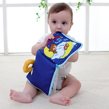 12 Pages Kids Learning Resources Soft Cloth Book Educational Toys For Children Educational Book For Newborn Baby 0~12month