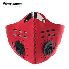 WEST BIKING Sport Windproof  Face Mask Dustproof Half Face Mask Bike Motorcycle Running Ski Masks Warm Bike Bicycle Face Mask