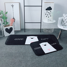 Nordic Minimalist Style Cute Bear Carpet Bedroom Living Room Balcony Window Pads Bathroom Kitchen Mats Office Floor Chair Mat