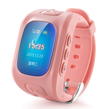 2017 Deest D5 Kid Tracker Smartwatch Phone MTK6261 SOS Button For Kid boy girl GPS Voice Monitor Sound Recorder Pedometer Alarm