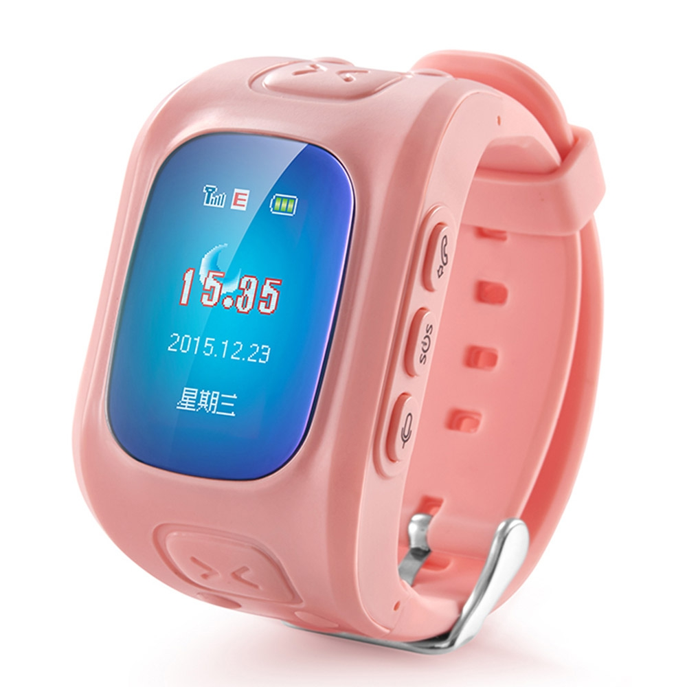 2017 Deest D5 Kid Tracker Smartwatch Phone MTK6261 SOS Button For Kid boy girl GPS Voice Monitor Sound Recorder Pedometer Alarm <br>