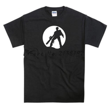 Evil Dead Ash Bruce Campbell Zombie Chainsaw T-shirt men's top tees(China)