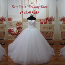 High Grade Actual Dress Ball Gown Bridal Dresses Beauty  Wedding Dresses WDL25