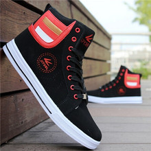 Men Shoes 2017 Top Fashion Boots Footwear For Man New High Top Casual Shoes Men Lace Up Casual Ankle Boots PA933592(China)