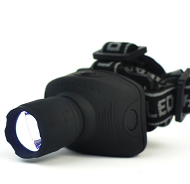 1800 Lumens LED Headlight Headlamp Flashlight Frontal Lantern Zoomable Head Torch Light To Bike For Camping Hunting Fishing