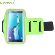 Top Quality COLORFUL Adjustable Armband Gym Running Sport Arm Band Cover Case For Samsung Galaxy S6 Edge+ Plus DEC 29(China)