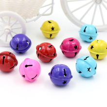 6Pcs Iron Loose Beads Jingle Bells Christmas Decoration Pendants DIY Crafts Handmade Accessories Size 30*30*26cm