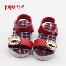 1pair 1/4 BJD Shoes 6cm sandals Shoes Fit MSD BJD Doll Accessory For Doll Girls Gifts