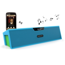 SARDiNE SDY019 Wireless Bluetooth Speaker Pure Stereo Sound Double Loudspeaker With USB TF Card Slot FM Alarm Clock Functions(China)
