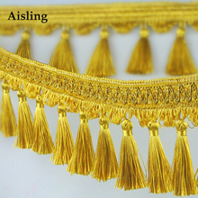 Aisling European Style High-Grade Curtain Lace Trim Tablecloth Table Runner Bedspread Accessories Tassel Fringe .D141