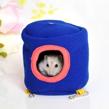 10cmX10cm Warm Cotton Hammock Bed House Cage For Hamster Rat Small Pet Pretty Gifts