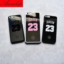 Fashion flyman Michael Jordan Hard Chrome Mirror case for iphone 7 6 6s 7 plus back phone cover carcasa capa fundas coque