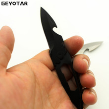 Mini Folding Blade Utility camping Knife Outdoor survival tactical rescue hand tools portable Key Knife